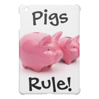 Pink Pigs Rule! Case For The iPad Mini