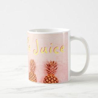 Pink Pineapple Juice Coffee Mug