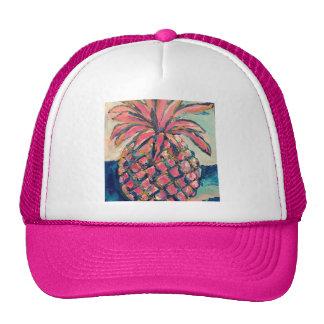 Pink Pineapple Trucker Hat