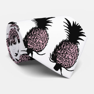 Pink Pineapples Tie