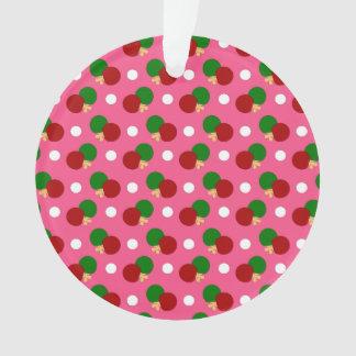 Pink ping pong pattern