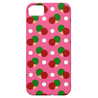 Pink ping pong pattern iPhone 5 covers