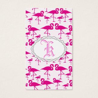 Pink Pink Flamingo Business Card