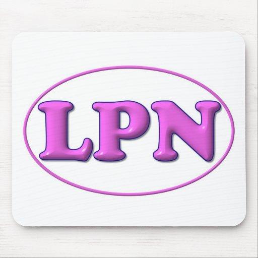 Pink Pink LPN Mouse Pad