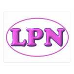 Pink Pink LPN Postcard