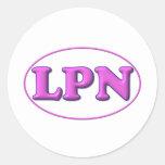 Pink Pink LPN Sticker