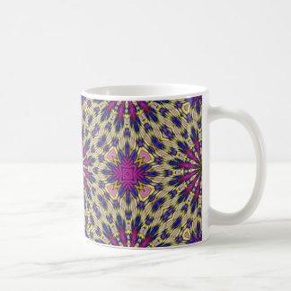 Pink Pinwheel Classic White Coffee Mug