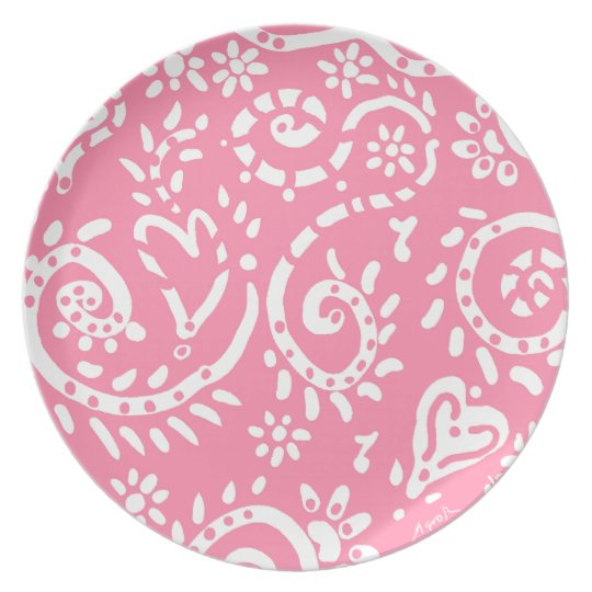 pink pip plate