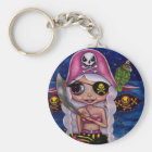 Pink Pirate Fairy Keychain