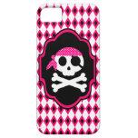 Pink Pirate Goth Phone Case iPhone 5 Case