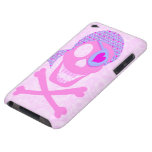 Pink Pirate Skull iPod Touch Case