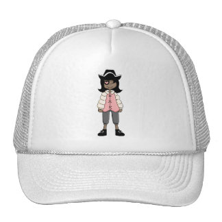Pink Pirates · Pirate Girl #3 Trucker Hat