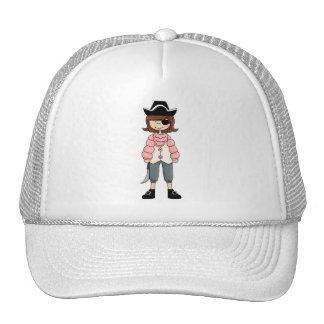 Pink Pirates · Pirate Girl #6 Trucker Hat