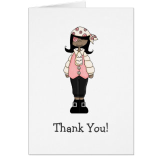 Pink Pirates · Pirate Girl #7 Card