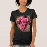 Pink Pirouette Roses Tshirt