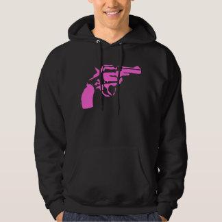 Pink Pistol Hooded Sweatshirt