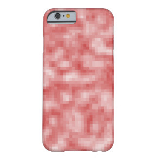 Pink Pixel Camo Barely There iPhone 6 Case