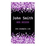 Pink Pixels Business Card