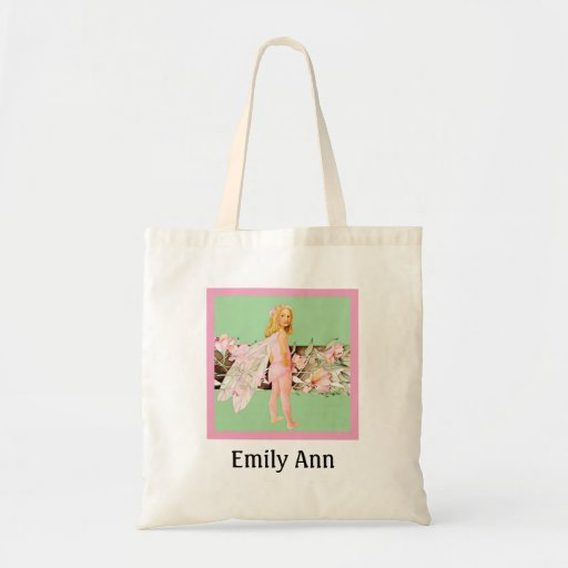 Pink Pixie Tote Bag