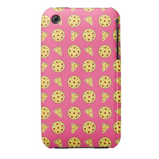 pink pizza pattern iPhone 3 Case-Mate cases