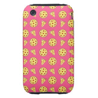pink pizza pattern tough iPhone 3 covers