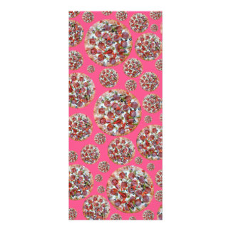 Pink pizza pie rack cards
