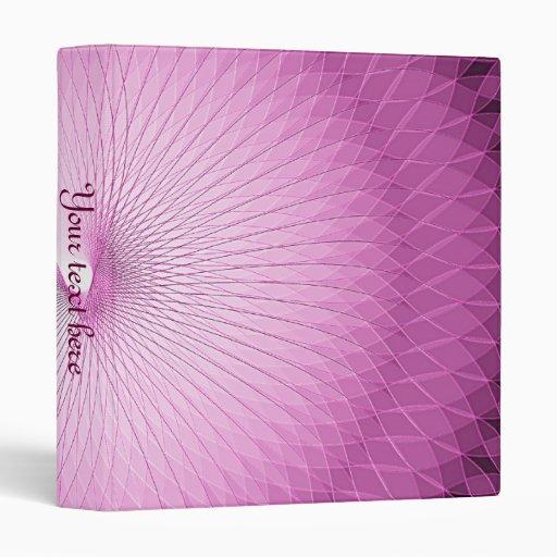 Pink Plafond Binder