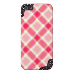 Pink Plaid and Lace - Girly iPhone Cases Cases For iPhone 5
