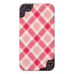 Pink Plaid and Lace - Girly iPhone Cases iPhone 4/4S Cases