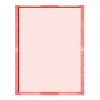 Pink Plaid Blank Typography Banner Card