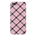 Pink Plaid Case Case For iPhone 5