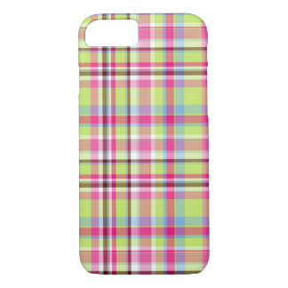 Pink Plaid iPhone 7 Case