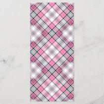 Pink Plaid Pattern Chic