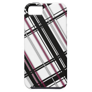 Pink Plain Plaid iPhone 5 Case