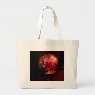 Pink Planet Jumbo Tote Bag