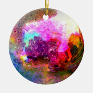 Pink Planet Ornament