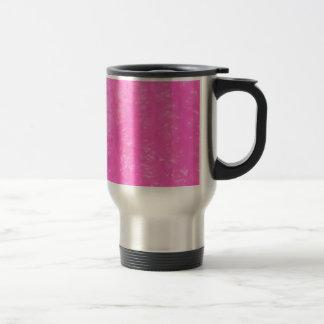 Pink Plastic Bubble Wrap 15 Oz Stainless Steel Travel Mug