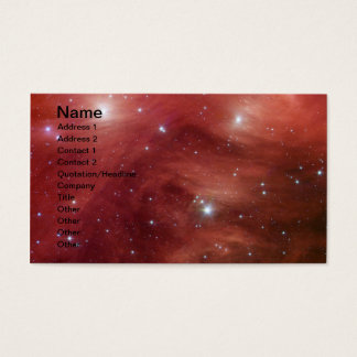 Pink Pleiades Infrared SSC2007 07b Business Card
