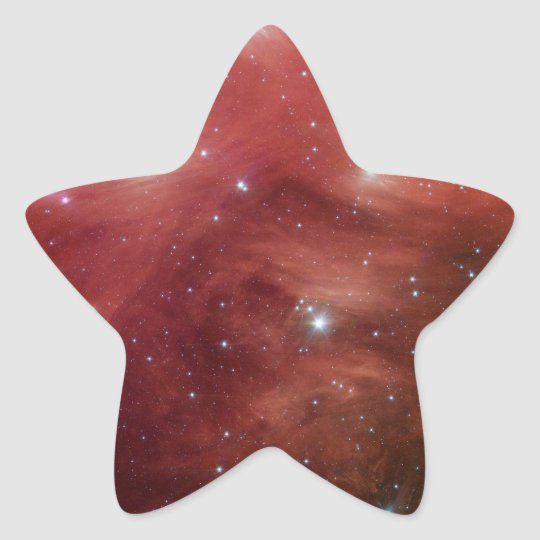 Pink Pleiades Infrared SSC2007 07b Star Sticker