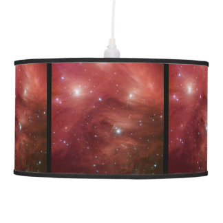 Pink Pleiades Star Cluster Pendant Lamp