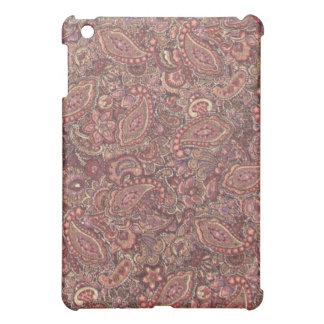 Pink Plum Paisley  iPad Mini Cases