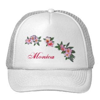 Pink Plumeria Trucker Hat
