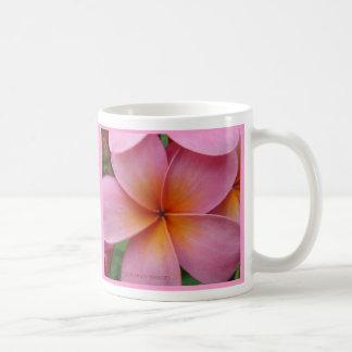 Pink Plumeria Mug