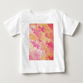 PINK PLUMES - Soft Pastel Wispy Pretty Peach Melon Infant T-shirt