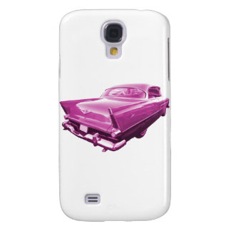 Pink Plymouth Tail Fins Galaxy S4 Covers