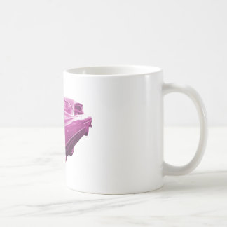 Pink Plymouth Tail Fins Coffee Mug