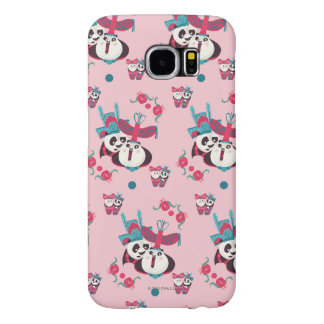 Pink Po and Mei Mei Pattern Samsung Galaxy S6 Case
