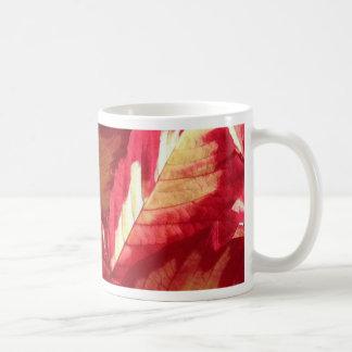 Pink Poinsettia Mugs