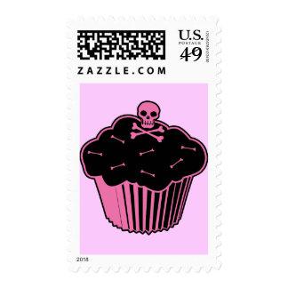 Pink Poison Cupcake Postage