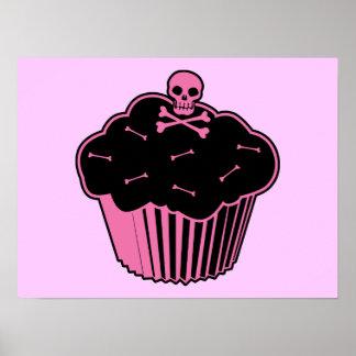 Pink Poison Cupcake Print